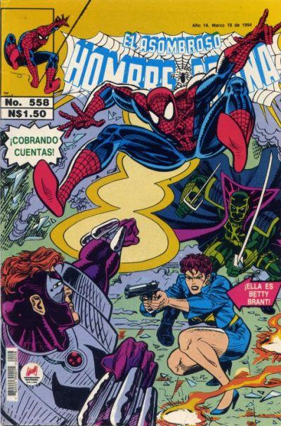 Cover for El Asombroso Hombre Araña (Novedades, 1980 series) #558