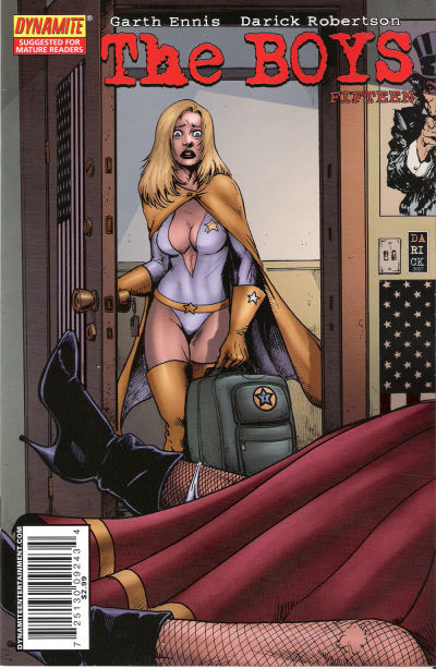 Cover for The Boys (Dynamite Entertainment, 2007 series) #15