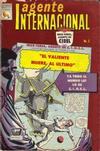 Cover for Agente Internacional (Editora de Periódicos La Prensa S.C.L., 1966 series) #5