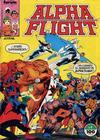 Cover for Alpha Flight (Planeta DeAgostini, 1985 series) #1