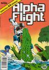 Cover for Alpha Flight (Planeta DeAgostini, 1985 series) #38