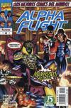 Cover for Alpha Flight (Planeta DeAgostini, 1998 series) #4