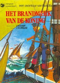 Cover Thumbnail for Roodbaard (Oberon; Dargaud Benelux, 1976 series) #[3] - Het brandmerk van de koning