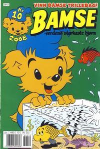 Cover Thumbnail for Bamse (Hjemmet / Egmont, 1991 series) #10/2008
