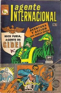 Cover for Agente Internacional (Editora de Periódicos La Prensa S.C.L., 1966 series) #1