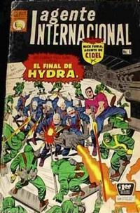 Cover Thumbnail for Agente Internacional (Editora de Periódicos La Prensa S.C.L., 1966 series) #6