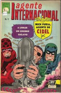 Cover for Agente Internacional (Editora de Periódicos La Prensa S.C.L., 1966 series) #9