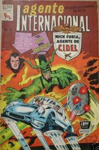 Cover Thumbnail for Agente Internacional (Editora de Periódicos La Prensa S.C.L., 1966 series) #10