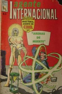 Cover Thumbnail for Agente Internacional (Editora de Periódicos La Prensa S.C.L., 1966 series) #24