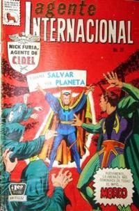 Cover Thumbnail for Agente Internacional (Editora de Periódicos La Prensa S.C.L., 1966 series) #26
