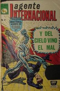 Cover Thumbnail for Agente Internacional (Editora de Periódicos La Prensa S.C.L., 1966 series) #31