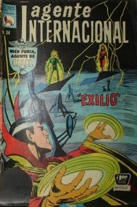 Cover Thumbnail for Agente Internacional (Editora de Periódicos La Prensa S.C.L., 1966 series) #34