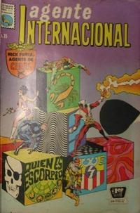 Cover Thumbnail for Agente Internacional (Editora de Periódicos La Prensa S.C.L., 1966 series) #35