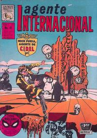 Cover Thumbnail for Agente Internacional (Editora de Periódicos La Prensa S.C.L., 1966 series) #41