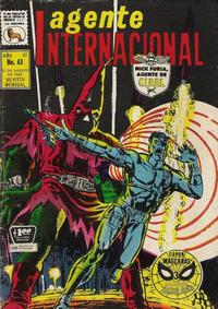 Cover for Agente Internacional (Editora de Periódicos La Prensa S.C.L., 1966 series) #43