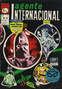 Cover Thumbnail for Agente Internacional (Editora de Periódicos La Prensa S.C.L., 1966 series) #44