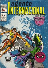 Cover Thumbnail for Agente Internacional (Editora de Periódicos La Prensa S.C.L., 1966 series) #45
