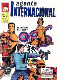 Cover Thumbnail for Agente Internacional (Editora de Periódicos La Prensa S.C.L., 1966 series) #46