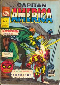 Cover for Capitán América (Editora de Periódicos La Prensa S.C.L., 1968 series) #4