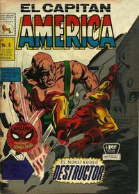 Cover Thumbnail for Capitán América (Editora de Periódicos La Prensa S.C.L., 1968 series) #6