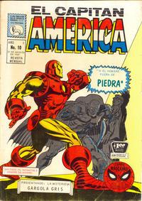 Cover Thumbnail for Capitán América (Editora de Periódicos La Prensa S.C.L., 1968 series) #10