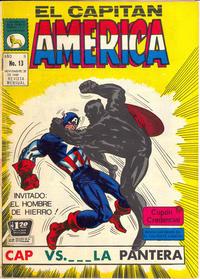 Cover Thumbnail for Capitán América (Editora de Periódicos La Prensa S.C.L., 1968 series) #13