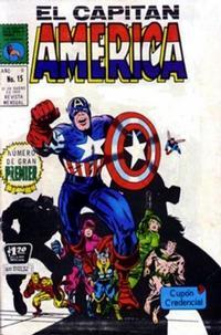Cover Thumbnail for Capitán América (Editora de Periódicos La Prensa S.C.L., 1968 series) #15