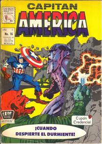 Cover Thumbnail for Capitán América (Editora de Periódicos La Prensa S.C.L., 1968 series) #16