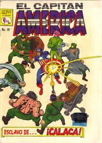 Cover Thumbnail for Capitán América (Editora de Periódicos La Prensa S.C.L., 1968 series) #19