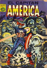 Cover Thumbnail for Capitán América (Editora de Periódicos La Prensa S.C.L., 1968 series) #22