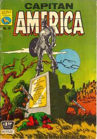 Cover Thumbnail for Capitán América (Editora de Periódicos La Prensa S.C.L., 1968 series) #28