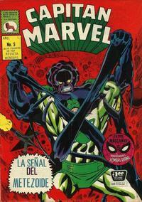 Cover Thumbnail for Capitán Marvel (Editora de Periódicos La Prensa S.C.L., 1968 series) #5