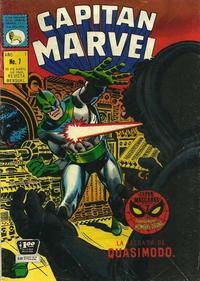 Cover Thumbnail for Capitán Marvel (Editora de Periódicos La Prensa S.C.L., 1968 series) #7