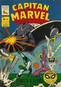 Cover Thumbnail for Capitán Marvel (Editora de Periódicos La Prensa S.C.L., 1968 series) #11