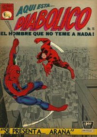 Cover Thumbnail for Diabólico (Editora de Periódicos La Prensa S.C.L., 1966 series) #16