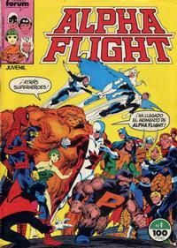 Cover Thumbnail for Alpha Flight (Planeta DeAgostini, 1985 series) #1