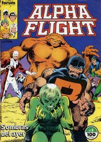 Cover Thumbnail for Alpha Flight (Planeta DeAgostini, 1985 series) #2