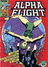 Cover Thumbnail for Alpha Flight (Planeta DeAgostini, 1985 series) #3