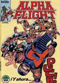 Cover Thumbnail for Alpha Flight (Planeta DeAgostini, 1985 series) #4