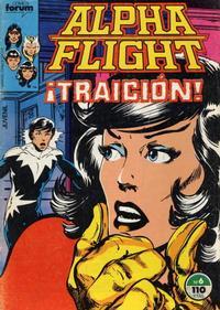 Cover Thumbnail for Alpha Flight (Planeta DeAgostini, 1985 series) #6