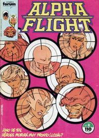 Cover Thumbnail for Alpha Flight (Planeta DeAgostini, 1985 series) #8