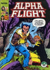 Cover Thumbnail for Alpha Flight (Planeta DeAgostini, 1985 series) #10