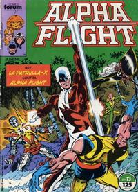 Cover Thumbnail for Alpha Flight (Planeta DeAgostini, 1985 series) #13