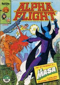 Cover Thumbnail for Alpha Flight (Planeta DeAgostini, 1985 series) #16