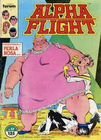 Cover Thumbnail for Alpha Flight (Planeta DeAgostini, 1985 series) #17