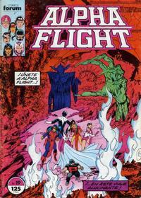 Cover Thumbnail for Alpha Flight (Planeta DeAgostini, 1985 series) #19