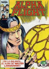 Cover Thumbnail for Alpha Flight (Planeta DeAgostini, 1985 series) #20