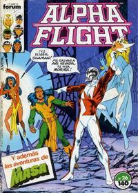Cover Thumbnail for Alpha Flight (Planeta DeAgostini, 1985 series) #26