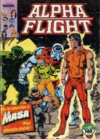 Cover Thumbnail for Alpha Flight (Planeta DeAgostini, 1985 series) #27
