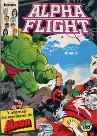 Cover Thumbnail for Alpha Flight (Planeta DeAgostini, 1985 series) #28